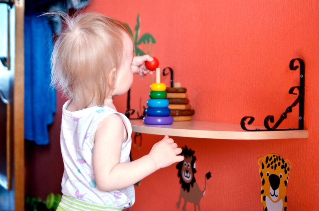 Пирамидка - развивающие подарки для детей на 1 год