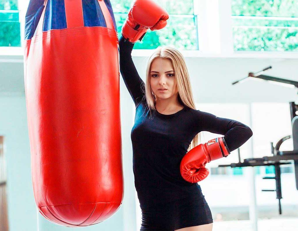 Подарите боксерские перчатки и грушу!